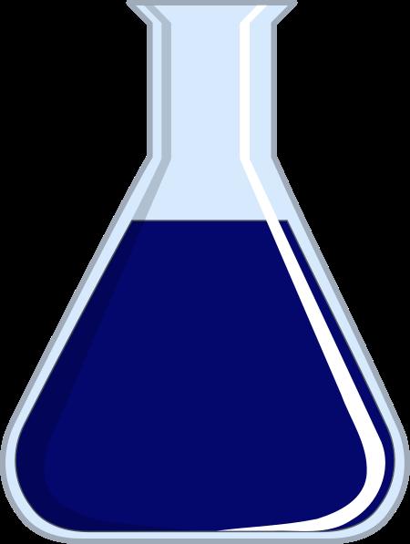 clipart freeuse stock Lab Blue Beaker Clip Art at Clker