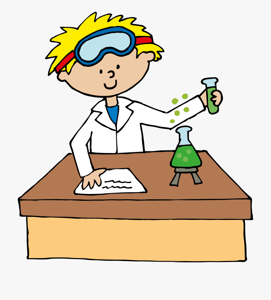 image transparent library Female science teacher project. Lab clipart.