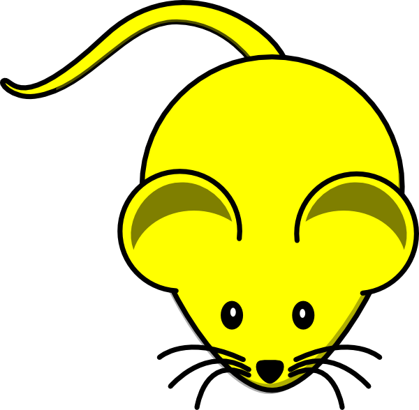 picture library stock Lab mouse clipart. Yellow graphic clip art