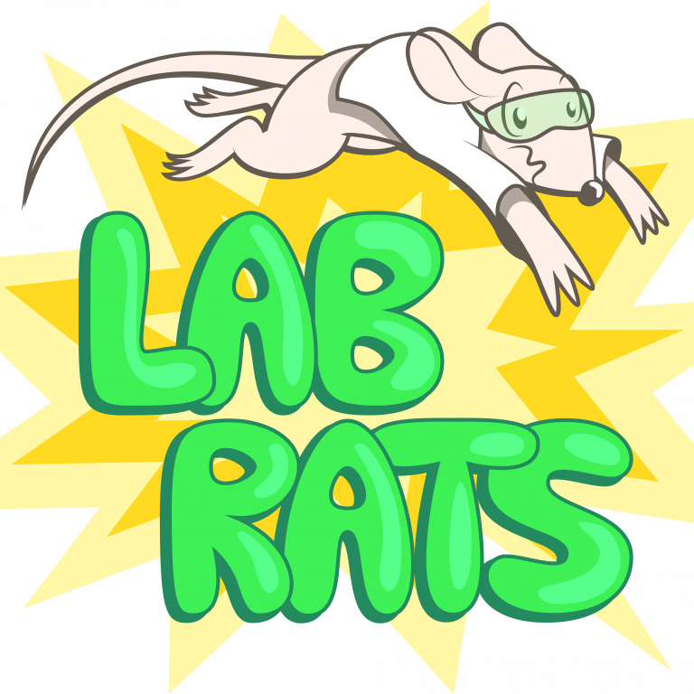 clip art black and white Lab Rats