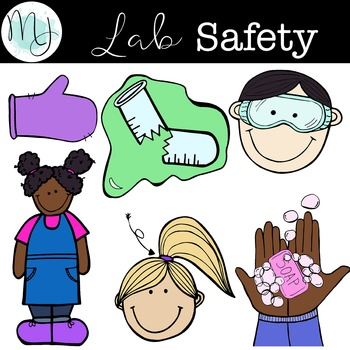 banner royalty free . Lab safety clipart