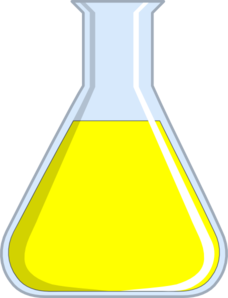 clipart royalty free library Chemistry Flash Yellow Clip Art at Clker