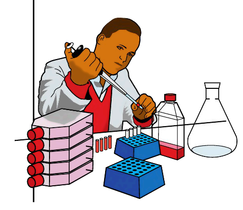 vector royalty free download Free science download clip. Lab work clipart