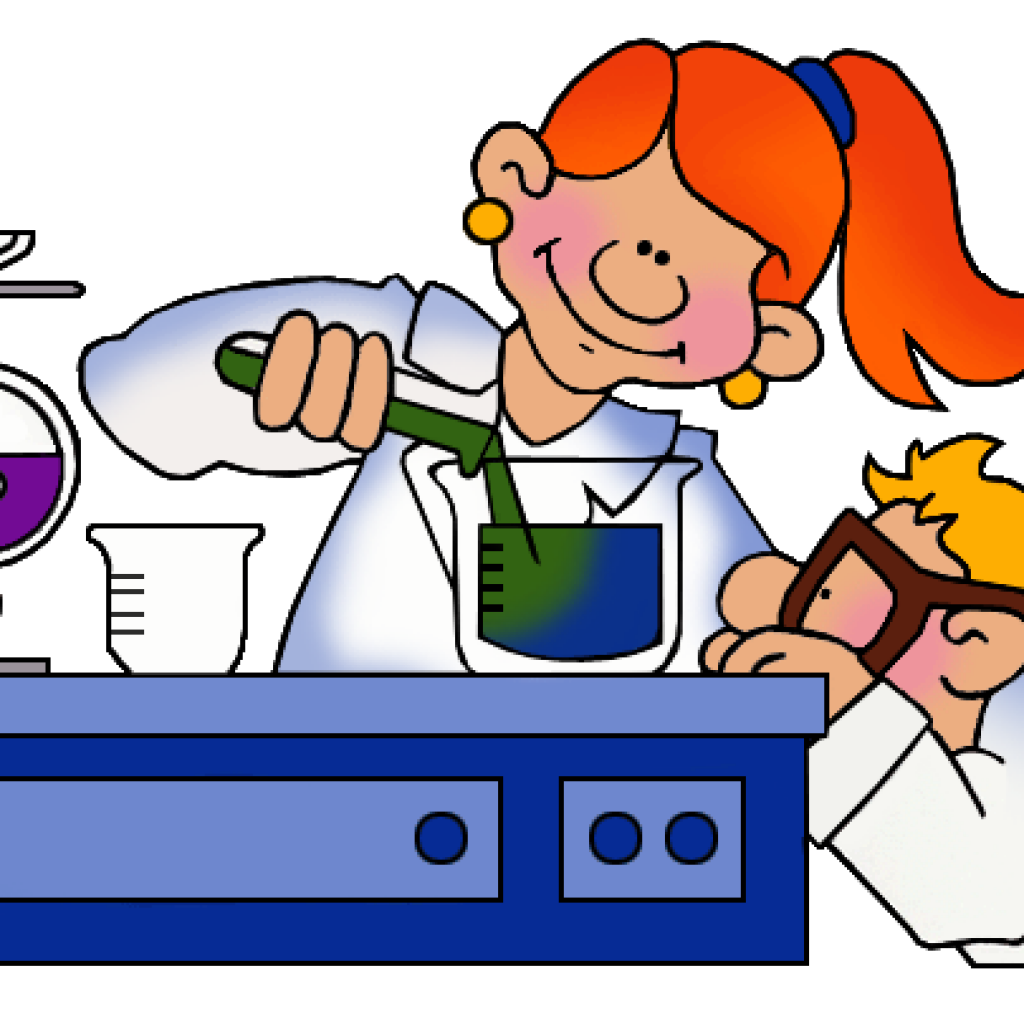 clipart royalty free library Lab work clipart. Science clip art wave
