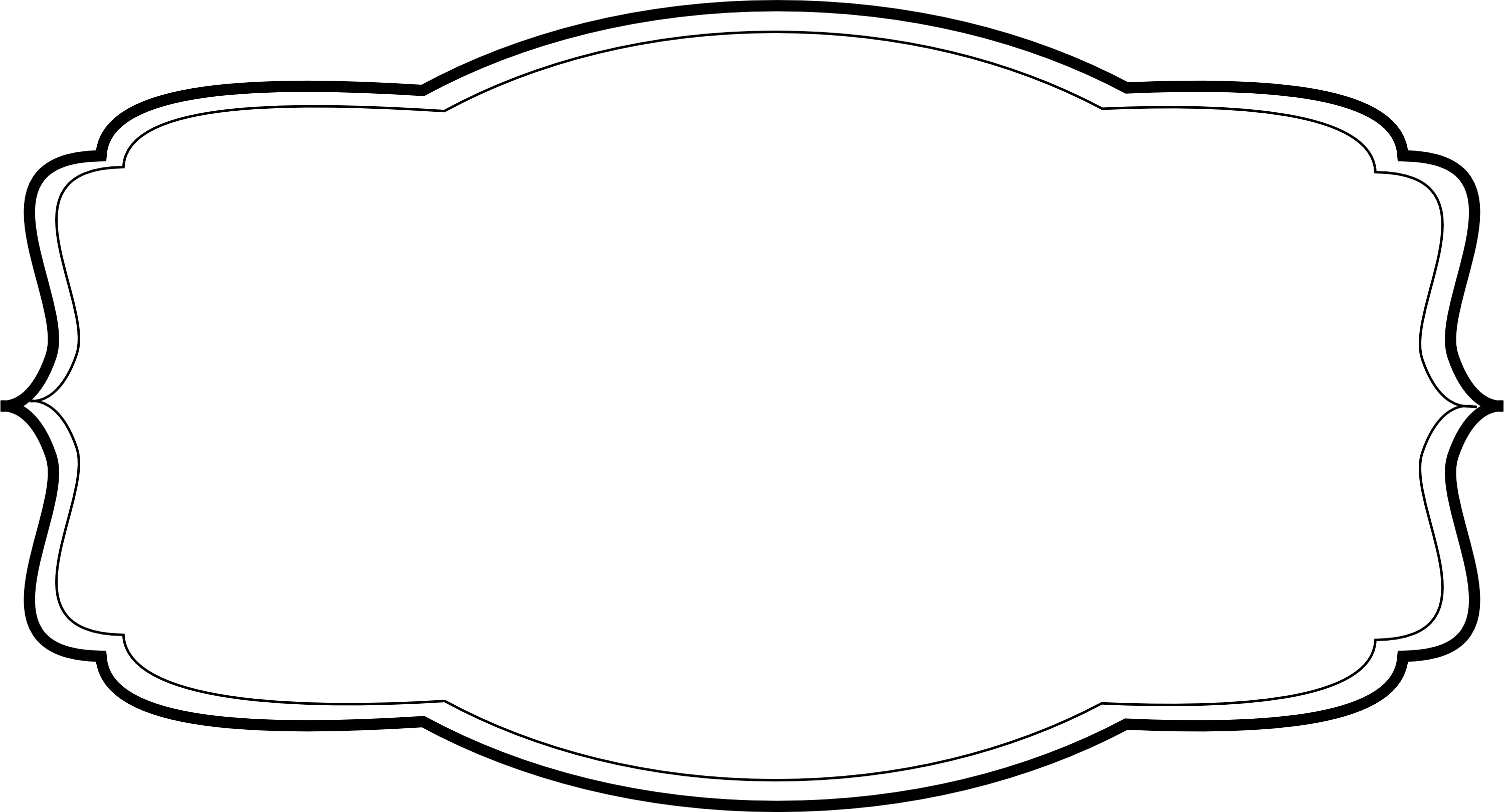 png black and white library Label clipart vintage. Blank templates the creative.