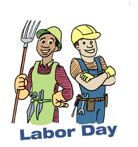 png black and white stock French day free on. Labor clipart animated.