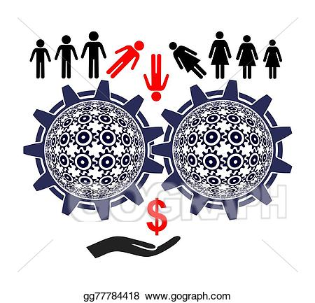 graphic library stock Stock illustration exploitation . Labor clipart modern slavery.