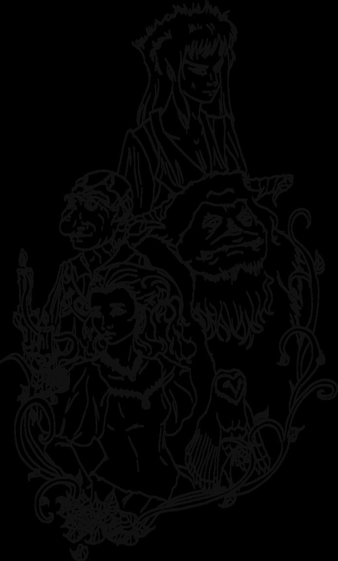 image free Labyrinth drawing art. Shak line by lonelymori
