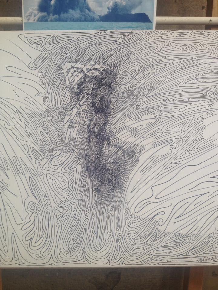 clip stock John hampshire alternate grid. Labyrinth drawing art