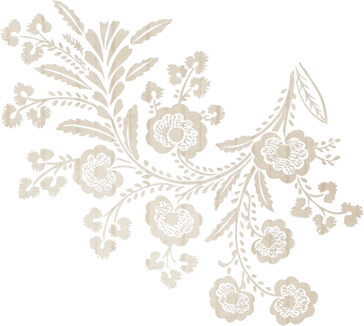 jpg black and white library Forgetmenot corners. Corner lace clipart