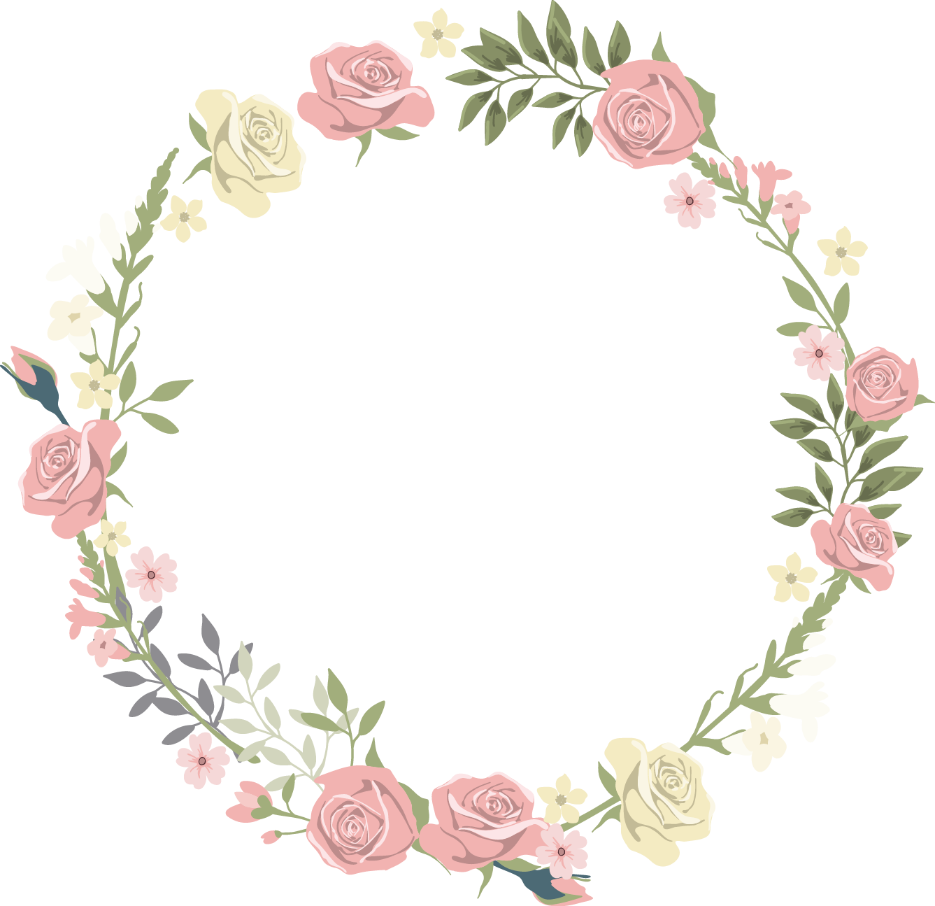 clip art library Pink flowers transprent png. Lace clipart flower.