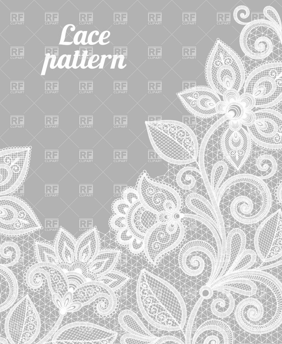 vector library library Pin by on pattern. Lace clipart vector