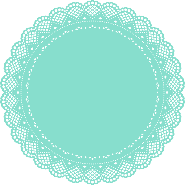 clip art transparent Png by eternalmystdesigns on. Lace doily clipart