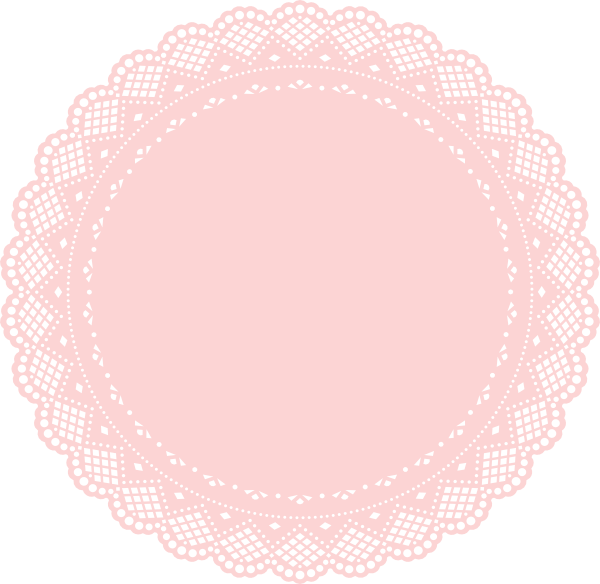 image royalty free download Lace doily clipart. Clip art at clker