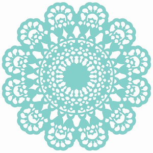 png transparent stock Lace doily clipart. Free images at clker