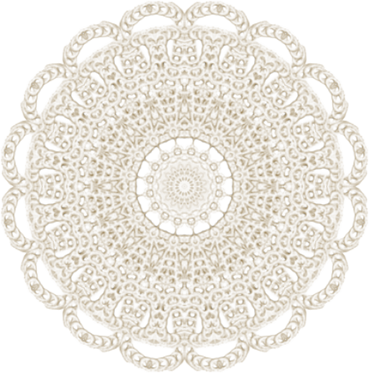 graphic freeuse Scrapbooking crochet craft clip. Lace doily clipart