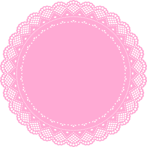 banner freeuse download Lace doily clipart. Doiley google search cumplea
