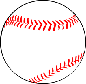 banner library library Laces clipart. Baseball w red clip