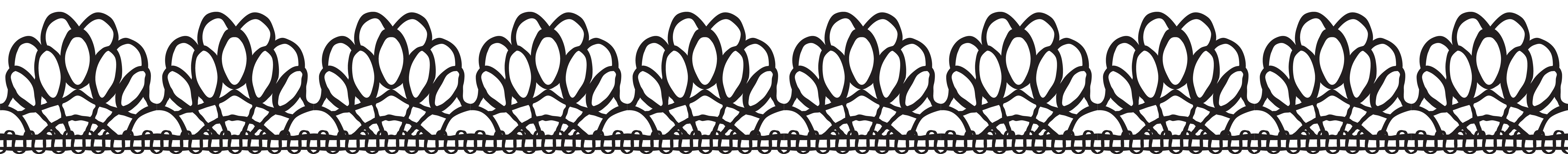 svg free library Lace clipart png. Border clip art image