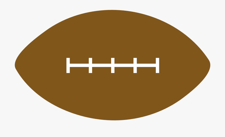 banner free stock Football clip art circle. Laces clipart brown lace.