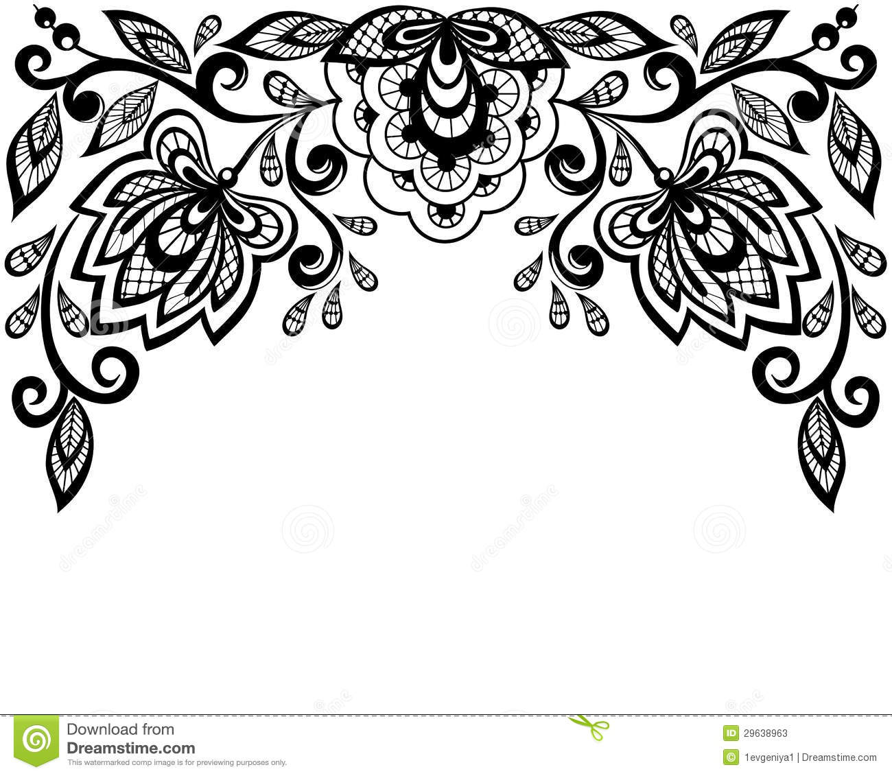vector download Clipart lace. Free download best on