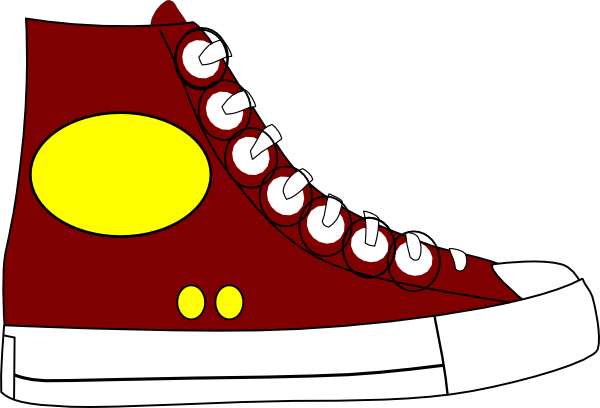 graphic free sneakers clipart lace #83473828
