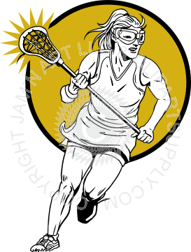 banner royalty free library Player free on dumielauxepices. Lacrosse clipart.