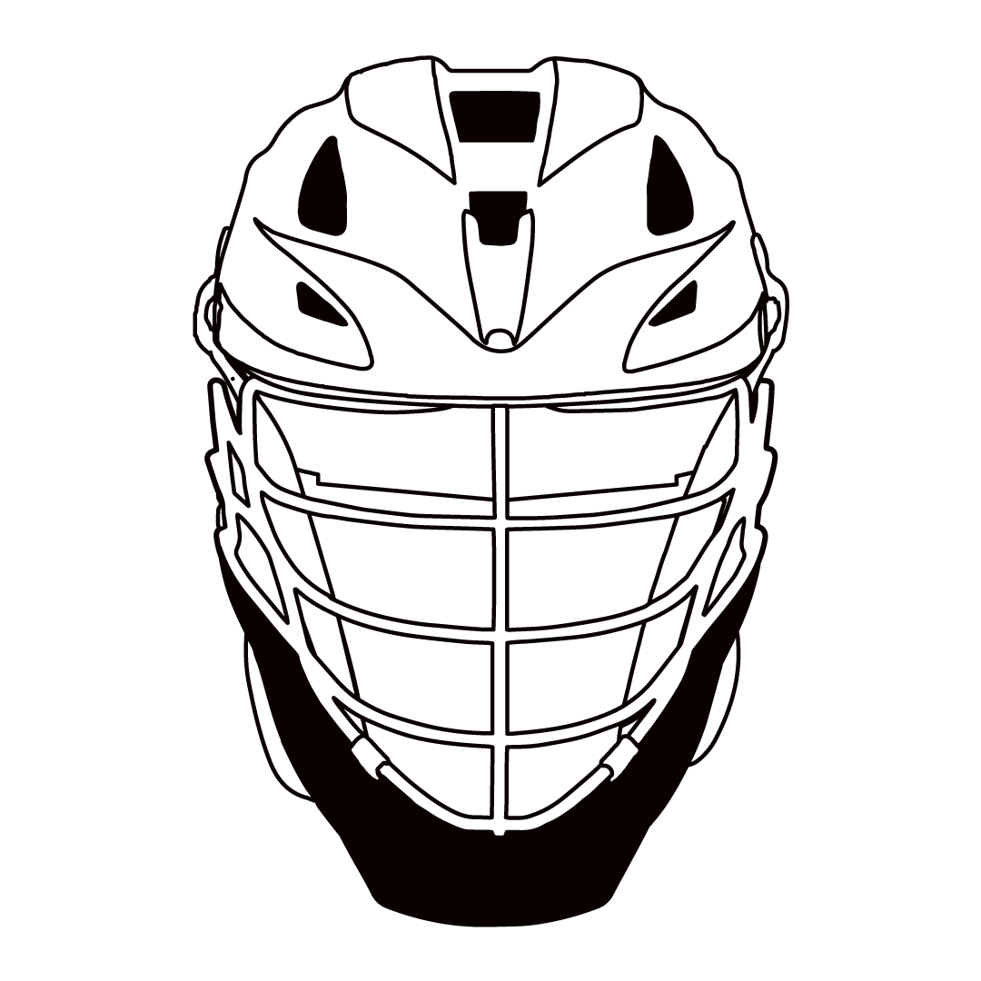jpg download Lacrosse Helmet Drawing at GetDrawings