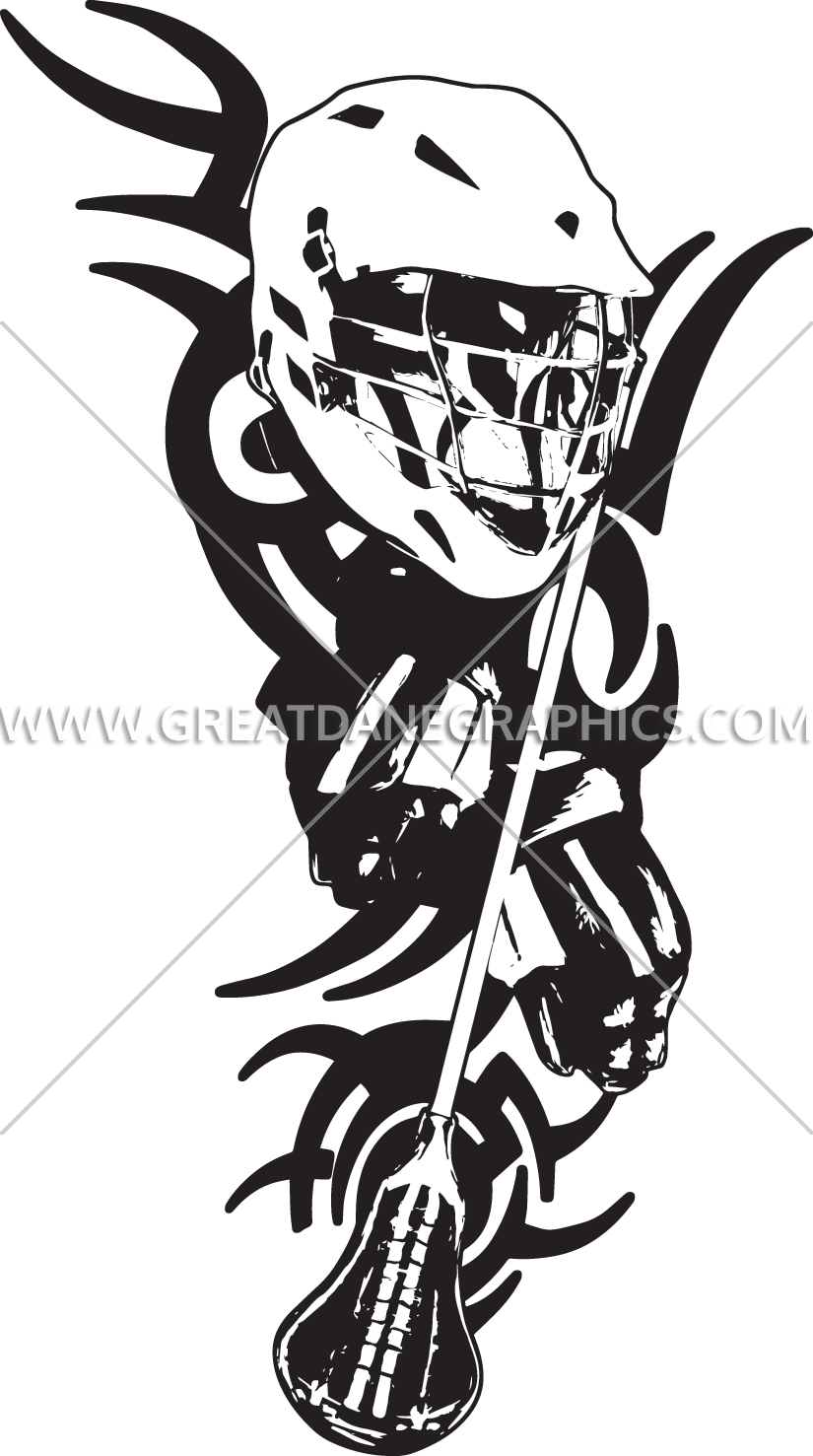 picture free library Lacrosse Vertical Tribal