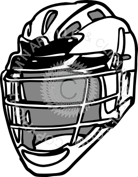 picture royalty free Lacrosse helmet at angle