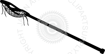 clip art library stock Cool Lacrosse stick