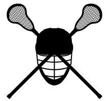clip transparent lacrosse equipment black outline silhouette vector