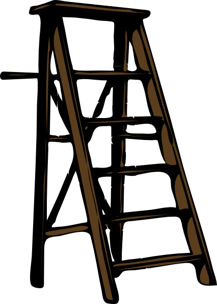 freeuse Clip art at clker. Ladder clipart.