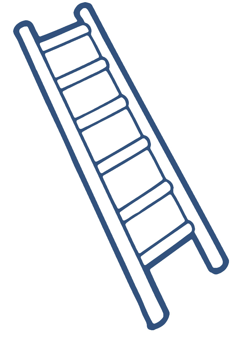 banner library Free cliparts download clip. Ladder clipart.
