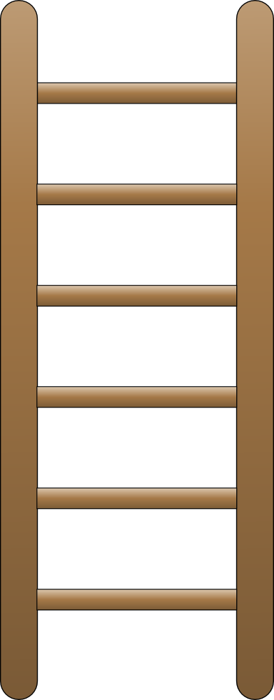 banner transparent Onlinelabels clip art flat. Ladder clipart
