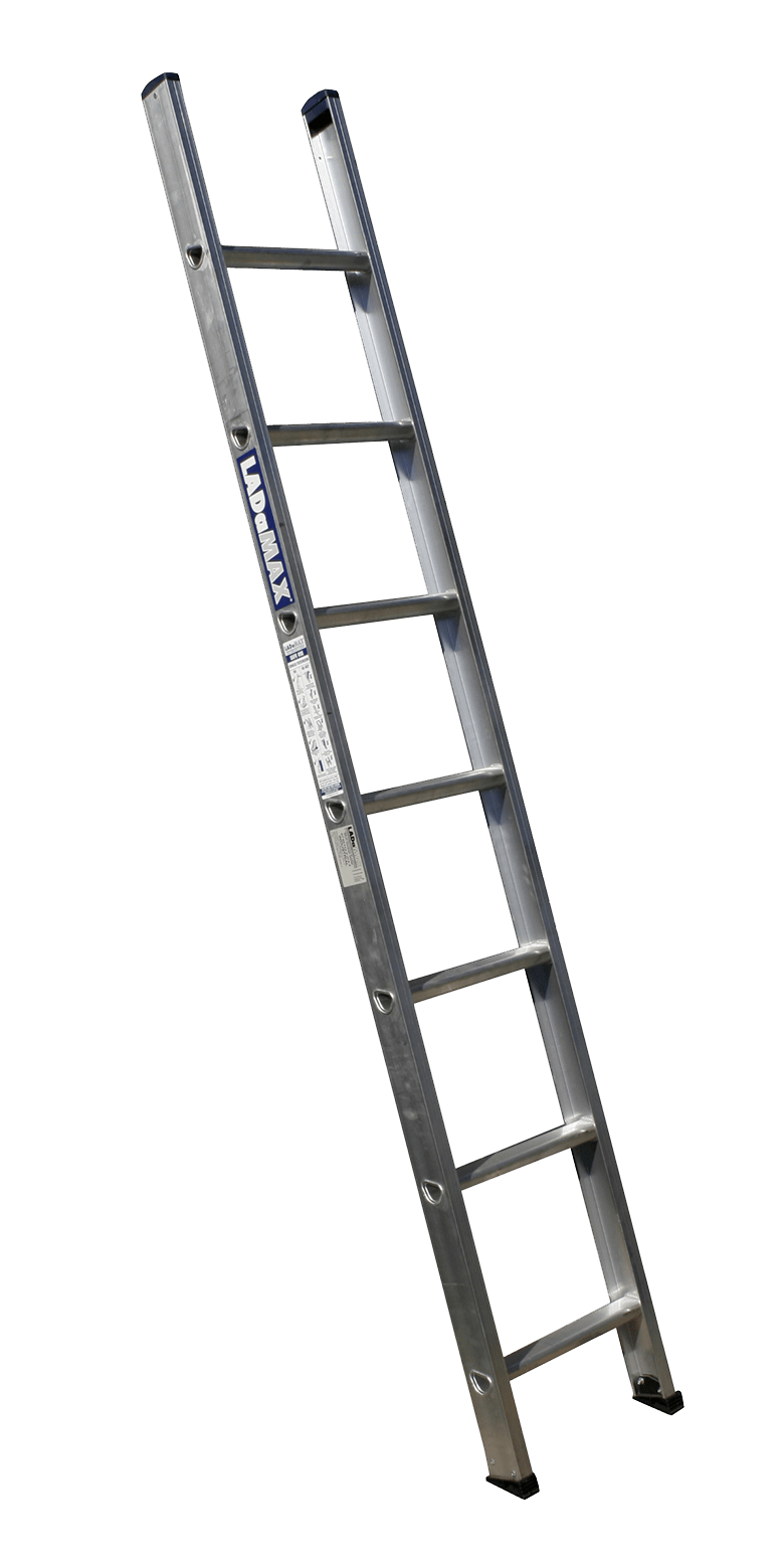 vector library Ladder clipart black and white. Single aluminium transparent png.