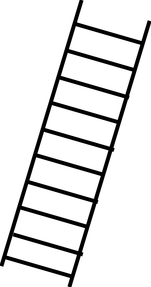 vector royalty free  collection of transparent. Ladder clipart black and white.