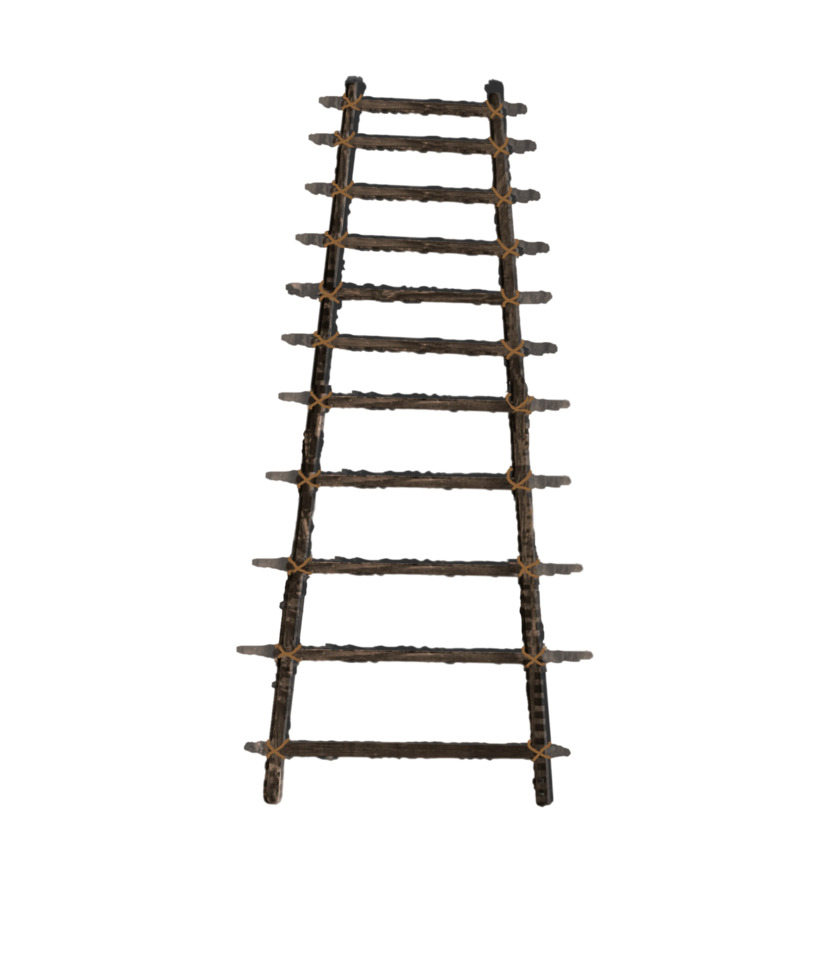 banner free library Ladder transparent. Png mart