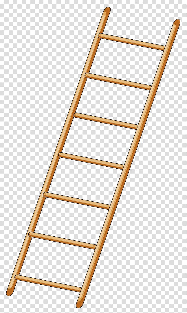 image free download Ladder transparent. Brown drawing yellow wooden