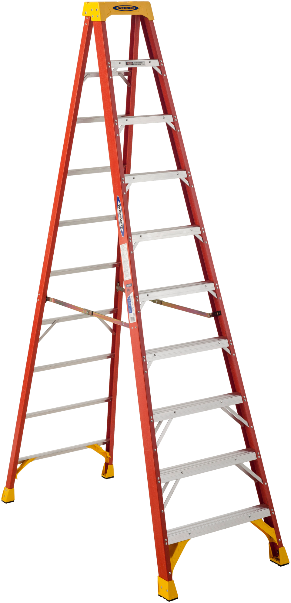black and white library Werner type ia pro. Ladder transparent fiberglass