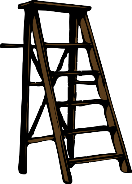 image freeuse library Wood Ladder Illustration transparent PNG