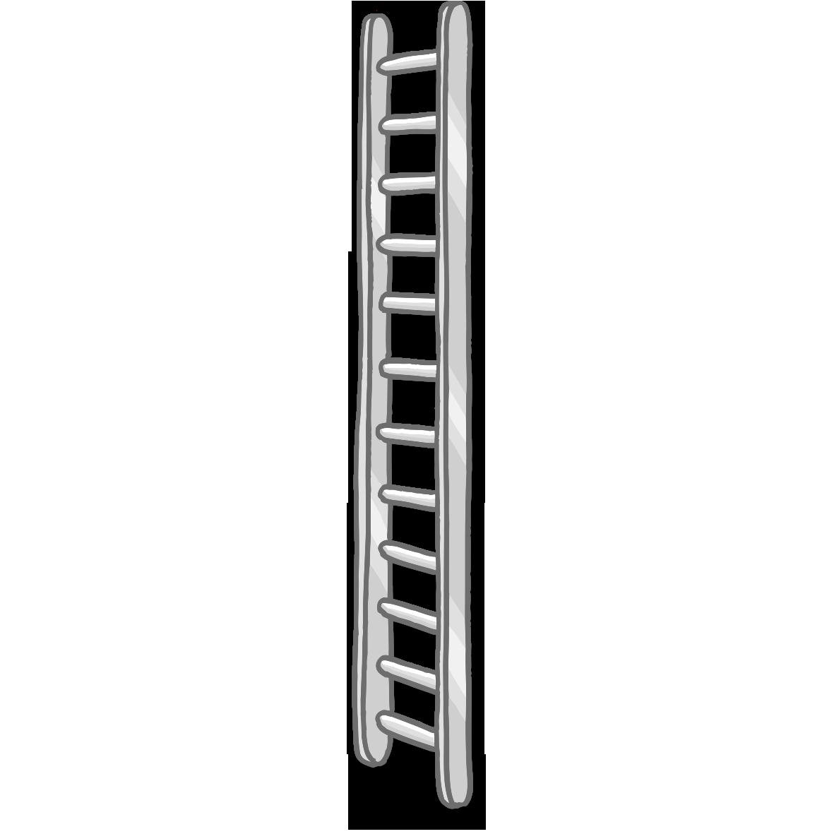 vector transparent stock Ladder Firefighting