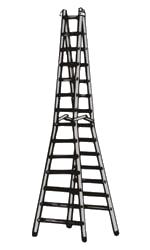 svg transparent download Double Step Trestle Ladder