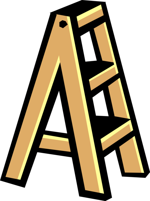 picture royalty free download Portable Step Ladder