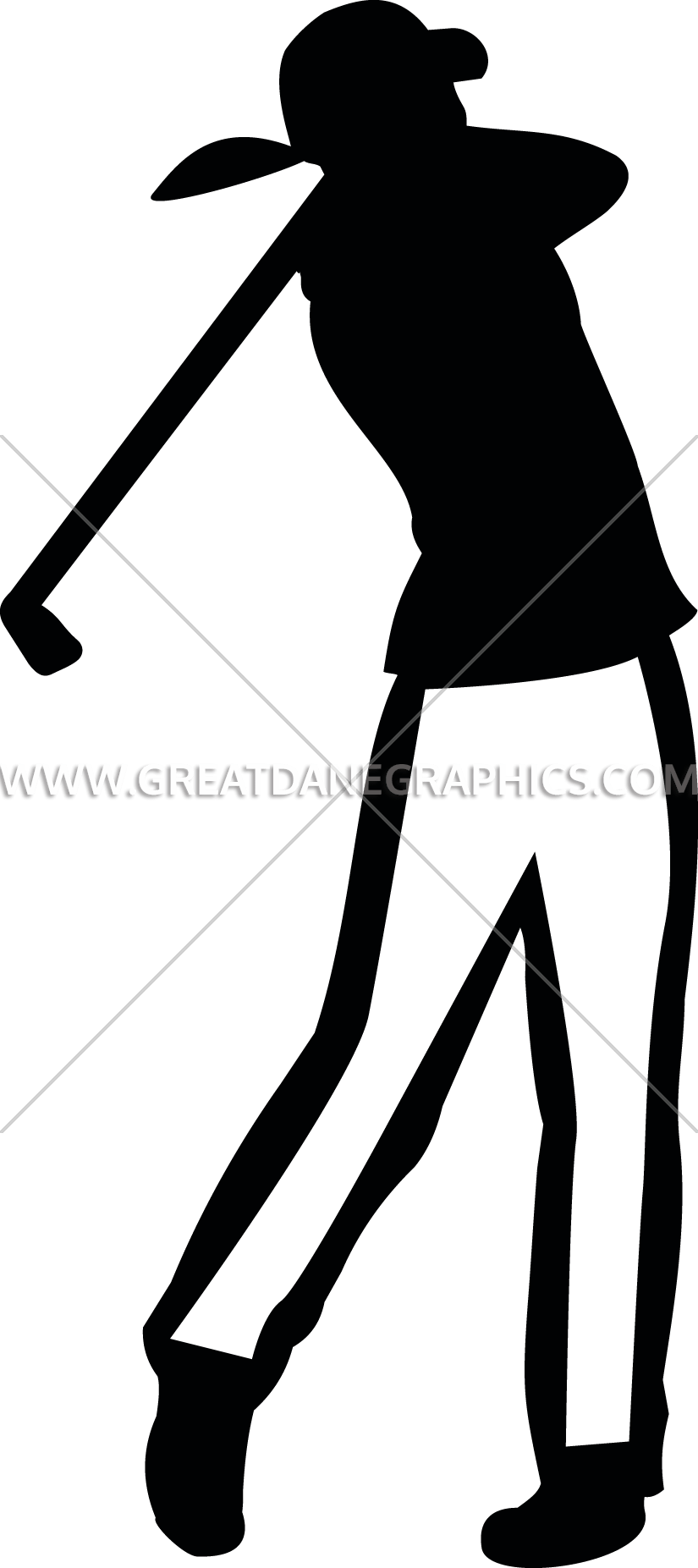 freeuse download Female golf silhouette at. Supermarket clipart woman