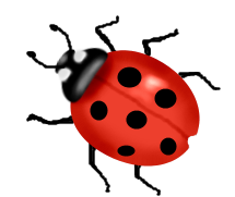 freeuse library Animated . Ladybug clipart.
