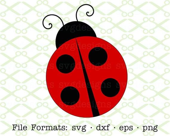 png free Svg dxf eps png. Ladybug clipart.