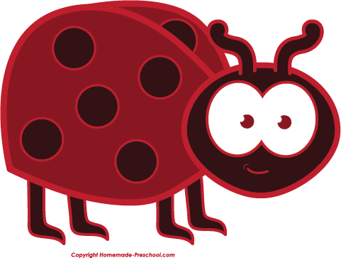 vector free download Ladybug clipart. Free click to save.
