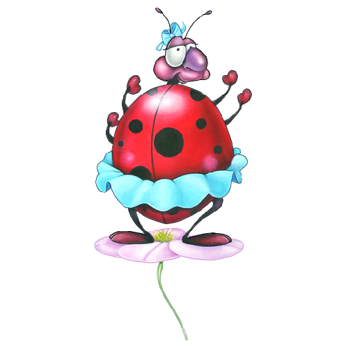 transparent download Ladybugs clipart let's celebrate. Ladybug cartoon insect images.