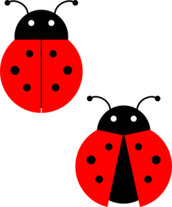 svg transparent library Clip art at clker. Ladybugs clipart.